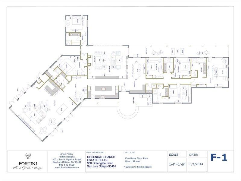 Plano de planta * Algunos muebles que se muestran no son fieles a la disposición actual de la casa
