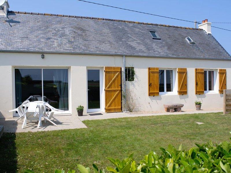 'En Bord de Mer...' à Plouescat : Maison de vacances en Bretagne, casa vacanza a Plouescat