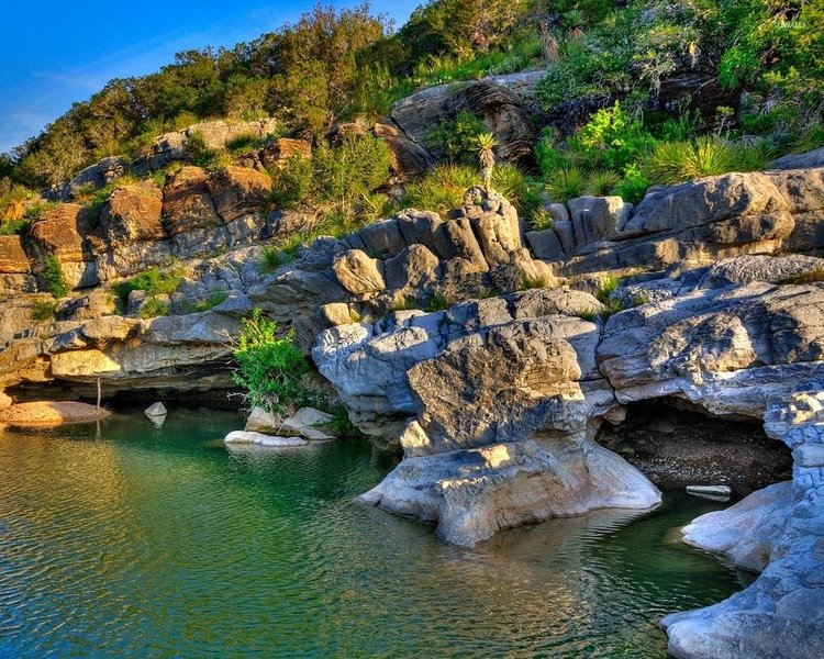 Pedernales Falls State Park - 18 miles away - one of our favorite spots!