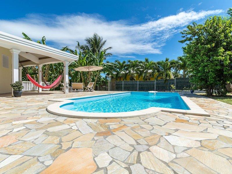 Villa avec piscine à 10 minutes des plages, alquiler de vacaciones en Le Vauclin