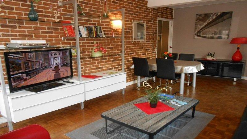Bel appartement centre ville de Rouen, alquiler de vacaciones en Le Grand-Quevilly