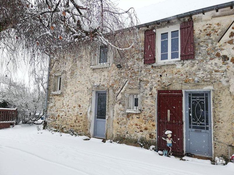 Gite aux portes de champagne entre Paris et Reims, location de vacances à Montreuil-aux-Lions