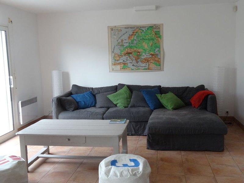 Loue maison familiale 8 couchages à 200m du golfe du Morbihan, location de vacances à Baden