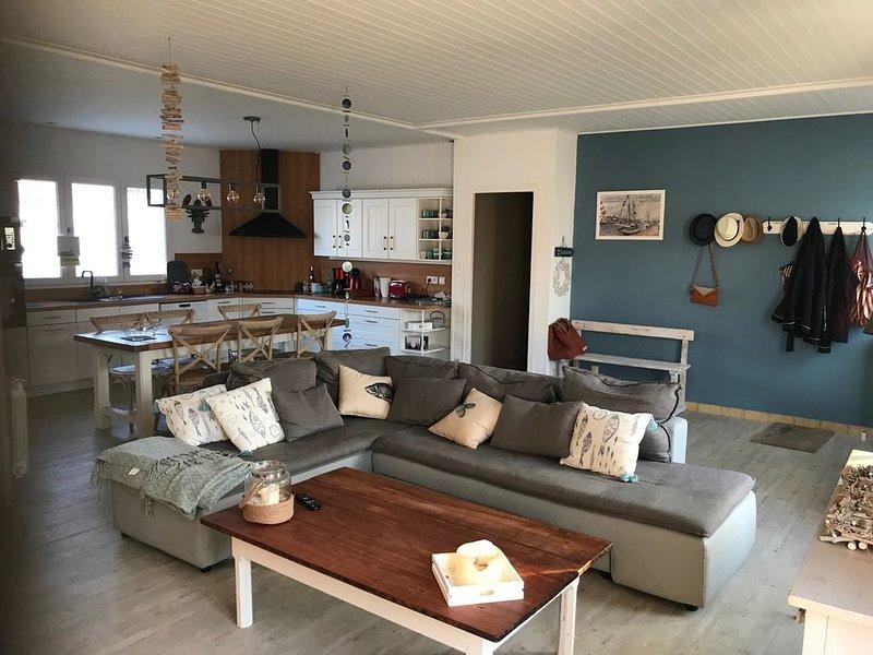 Espacio habitable (cocina, comedor, sala de estar)