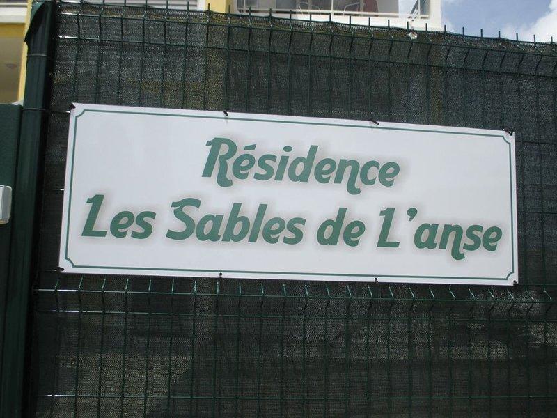 T3 CLASSE 3 ETOILES EN LOCATION PLAGE ANSE MITAN, casa vacanza a La Pagerie