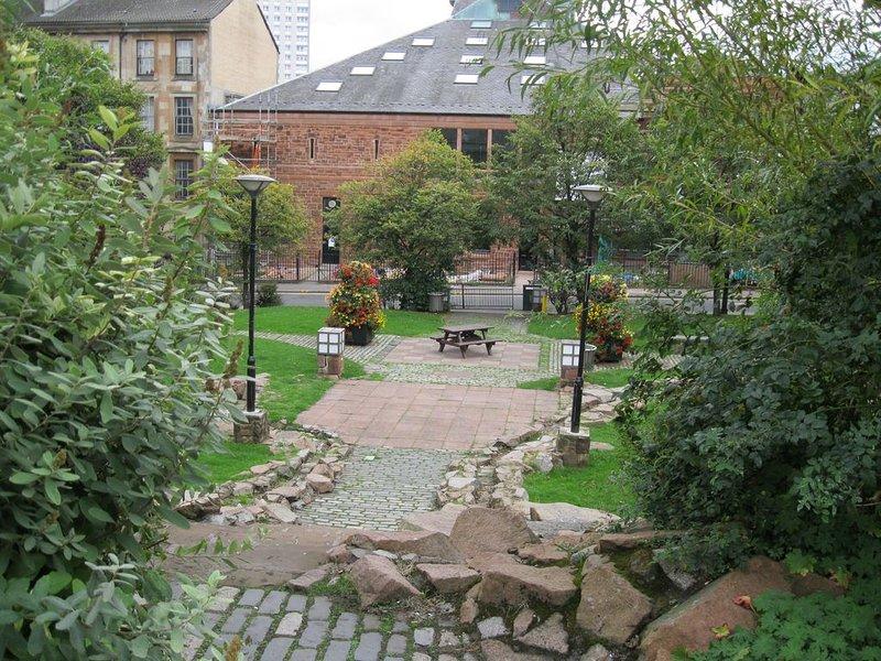 local park around the corner