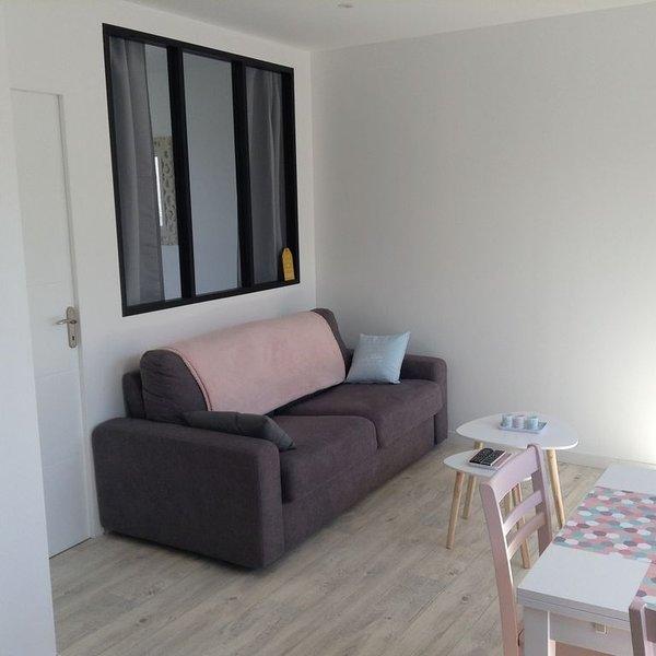 Charmant appartement 4 personnes Plein centre Dinard entre plages et place !, vacation rental in Dinard