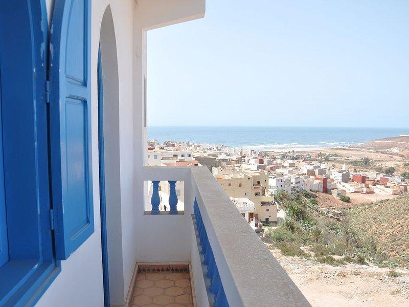 Vue sur la mer et sur Sidi Ifni depuis la maison