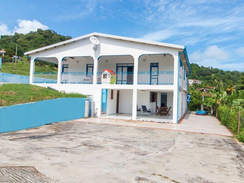 Villa entre mer et campagne, location de vacances à Le Marin