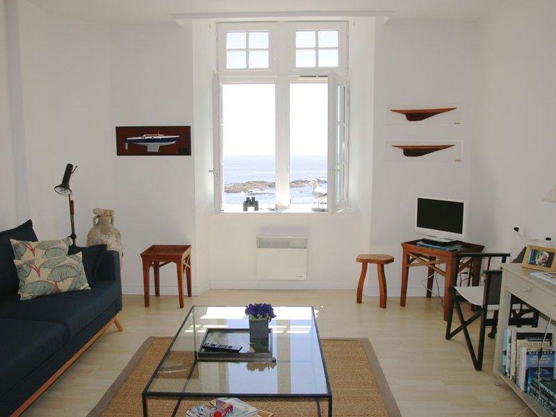 Appartement avec très belle vue sur mer, holiday rental in Clohars-Carnoet