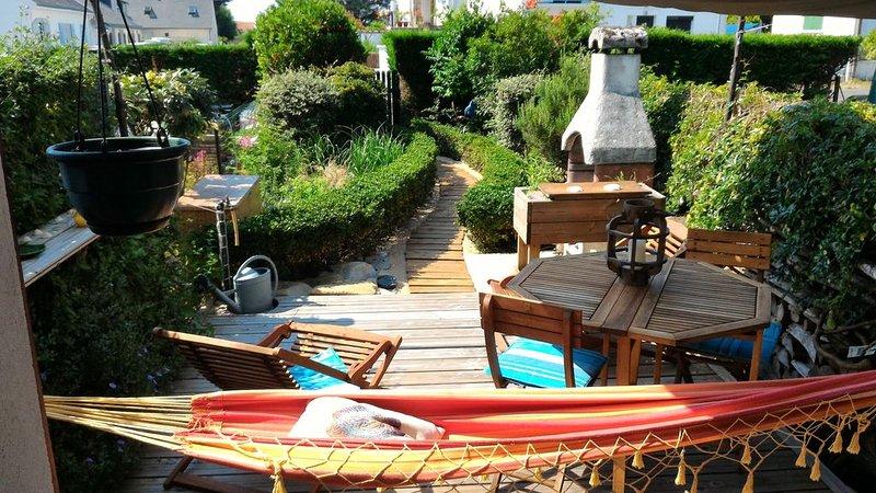 Maison chaleureuse classée proche piscine plages et commerces (équipée enfants), location de vacances à Batz-sur-Mer