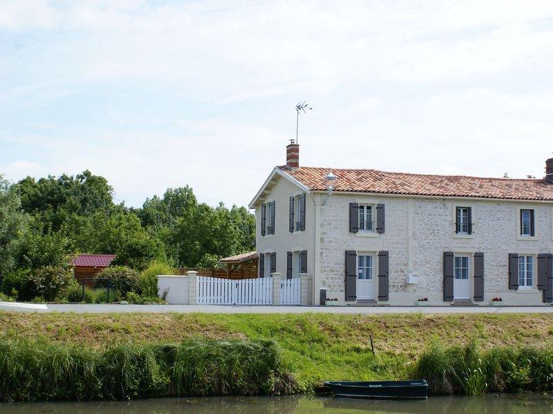 Gîte au coeur du Marais Poitevin – semesterbostad i Coulon