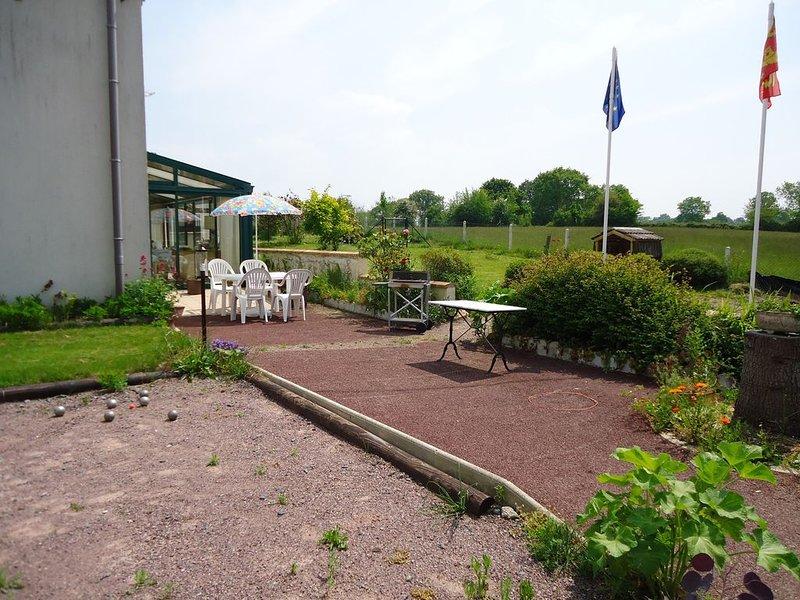 domisiladoré : plein pied spacieux accessible PMR (Personnes à Mobilité Réduite), location de vacances à Cartigny-l'Épinay