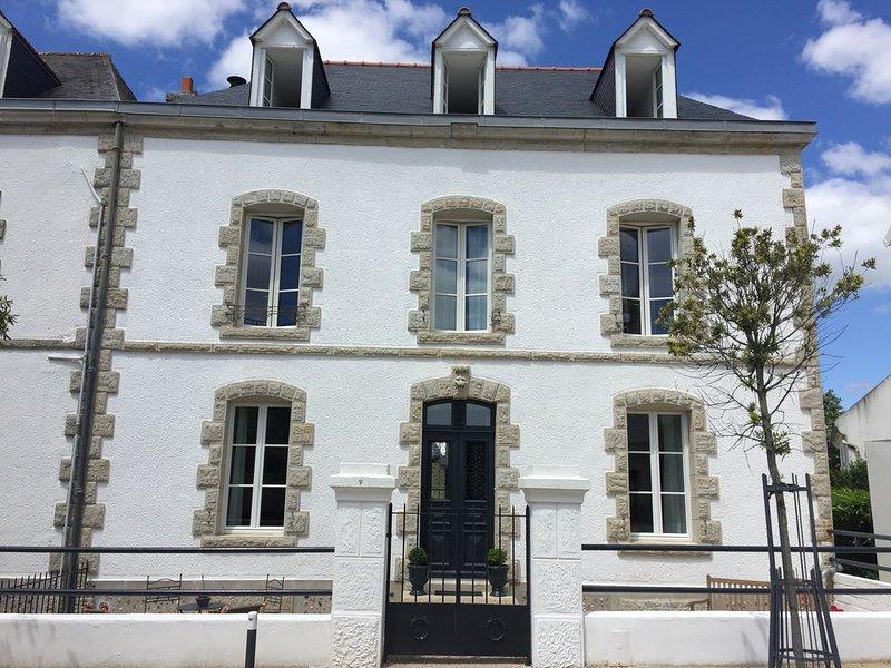 Villa de l'Océan- Finistère Sud--100 mètres de la plage, holiday rental in Clohars-Carnoet