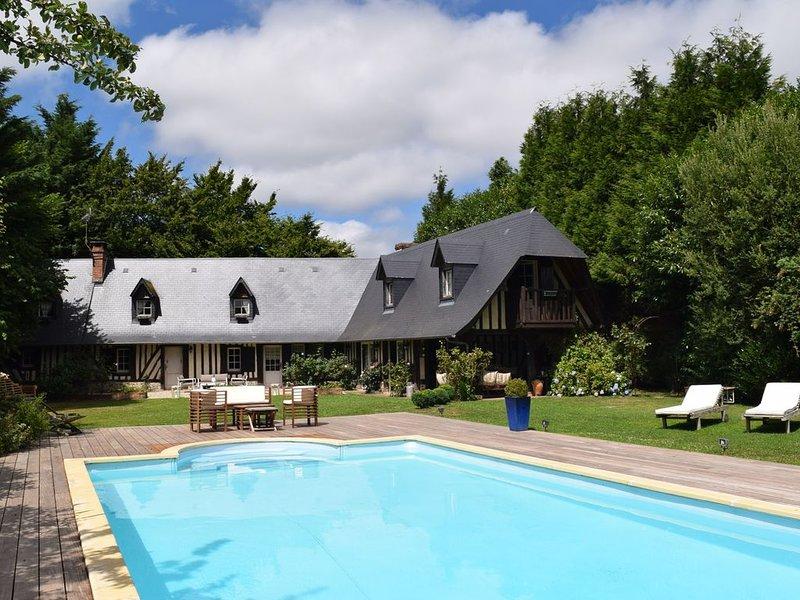 Longère de charme avec piscine en Normandie – Chambre couple « Nuit d'Orient », alquiler de vacaciones en Pont-Audemer