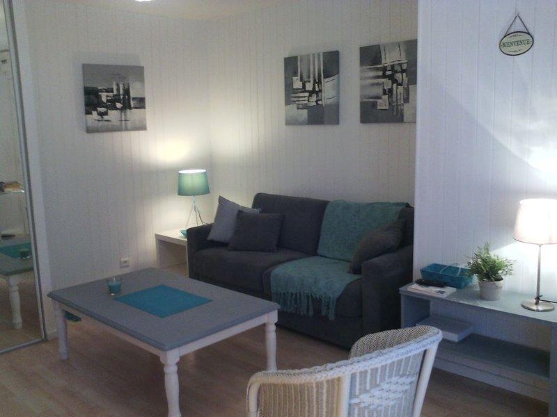 T1 lumineux Saint Malo, Solidor bord de mer - parking gratuit, aluguéis de temporada em Saint-Malo