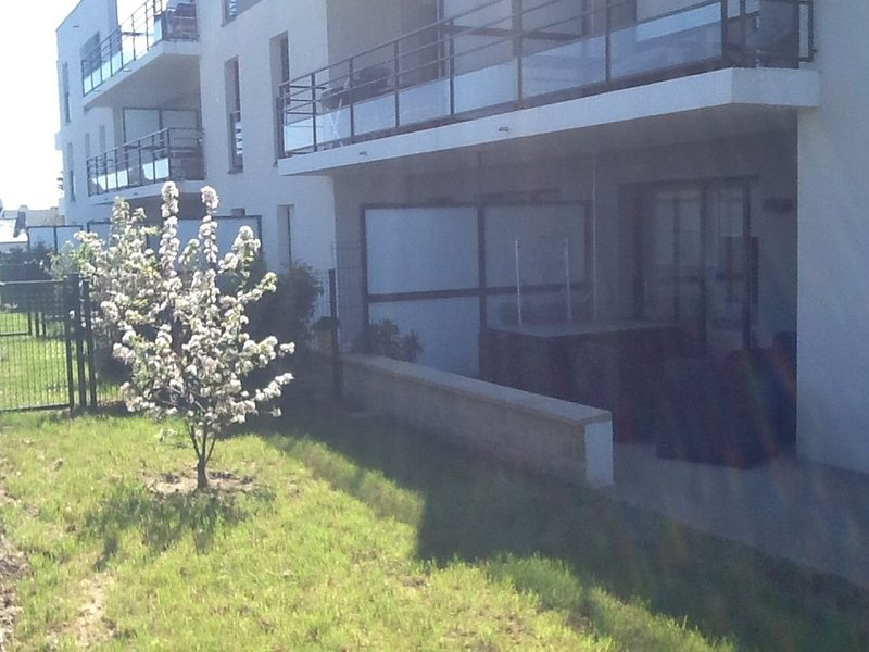 apartment and private garden view