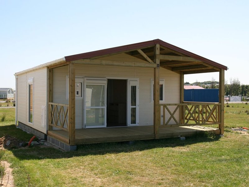 CHALET TOUT CONFORT EN BORD DE MER, holiday rental in Isigny-sur-Mer