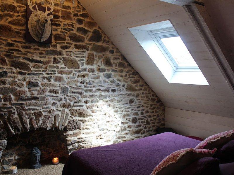 gîte    location vacance   la maison du beau menguy en bretagne, holiday rental in Saint-Jean-Kerdaniel