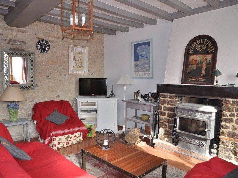 Gîte de charme en Sarthe, meublé de tourisme 3 étoiles, casa vacanza a Saint-Georges-le-Gaultier
