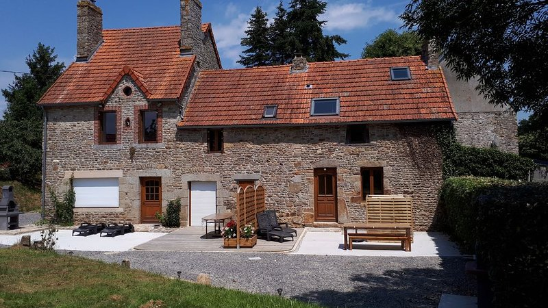 Gîte 'le Marité', 4 personnes, holiday rental in Sartilly