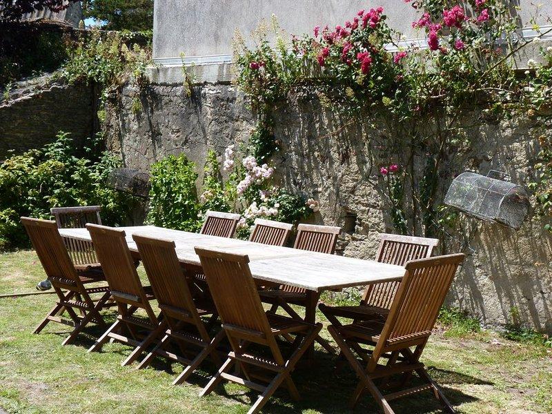 grande maison familiale, location de vacances à Groix