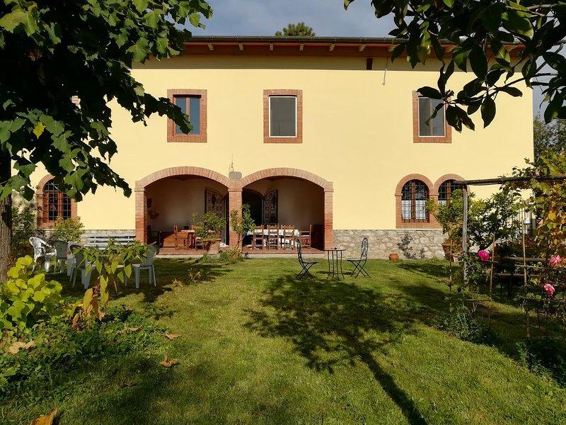 La maroneta - familienfreundliches Anwesen mit Toskanischem Flair, vacation rental in Pistoia