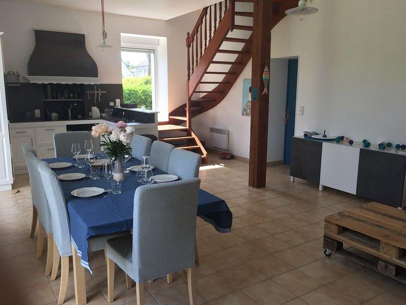 Grande maison à Combrit Sainte Marine, location de vacances à Combrit