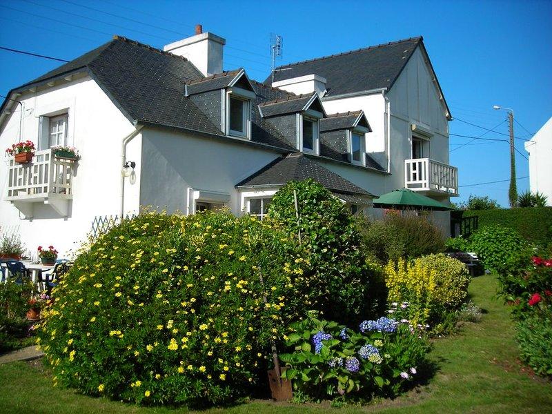 Maison familiale de charme à Carantec en baie de Morlaix, location de vacances à Henvic