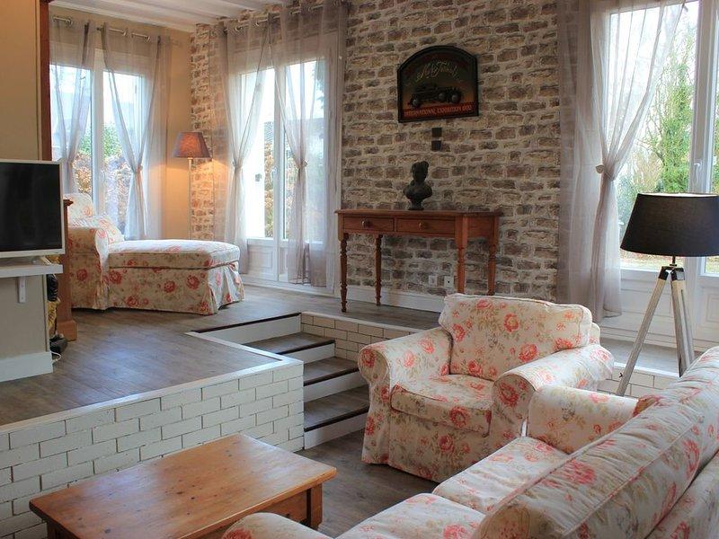 Gîte Le bon normand situé près d'Etretat,Honfleur, Deauville, Fecamp, casa vacanza a Montivilliers