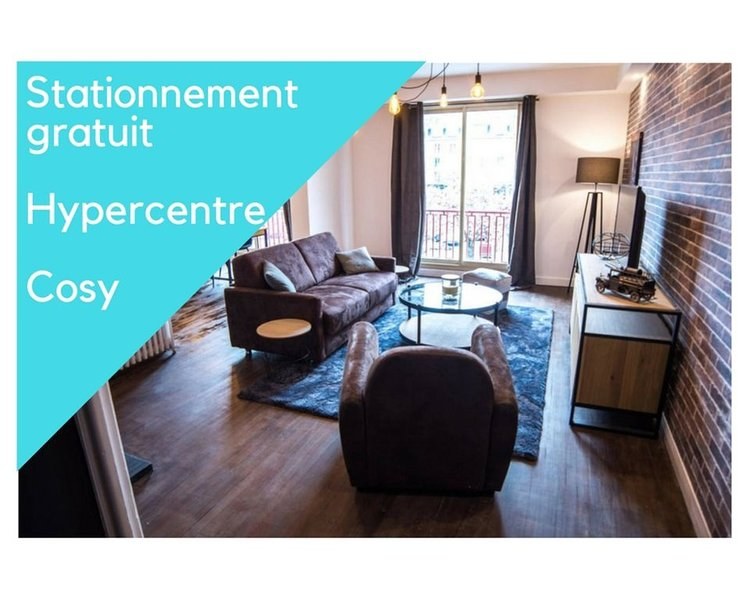 Appartement 'FACTORY' Hypercentre, holiday rental in Queven