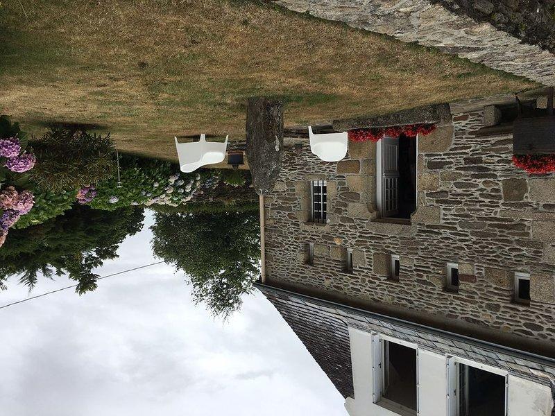 Location Plougonvelin, lieu dit Le Cosquer, grande maison bord de mer, alquiler vacacional en Plouzane