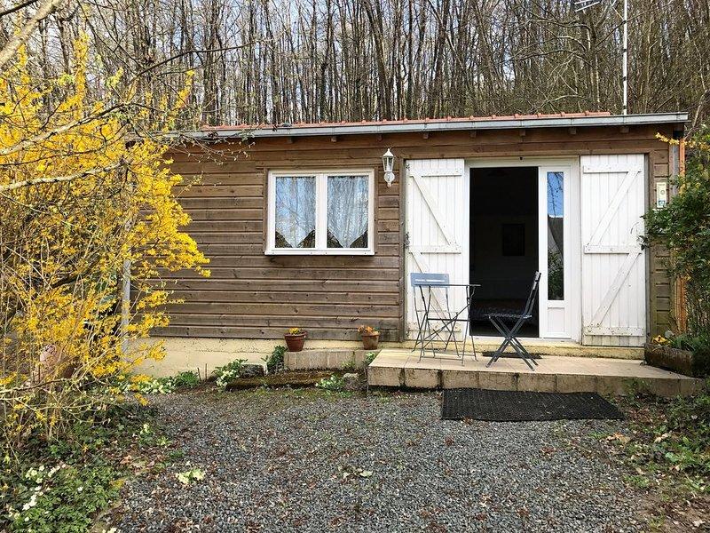 Maisonnette au fond du jardin, location de vacances à Maine et Loire