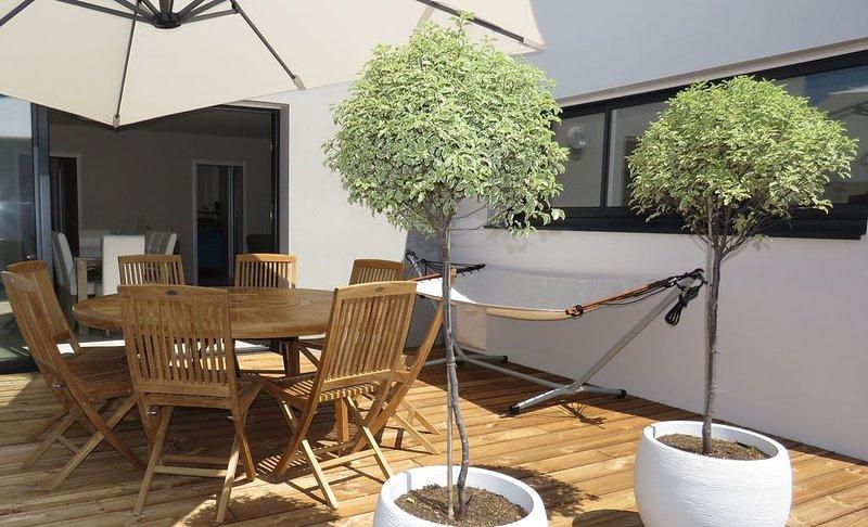 La Chaume - Maison 3 chambres 114 m² adaptée PMR - Plage, Forêt, Commerces, alquiler de vacaciones en Les Sables-d'Olonne