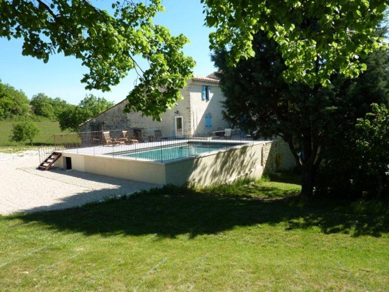 La Grange des Davids - Maison de vacances en Provence, aluguéis de temporada em Oppedette