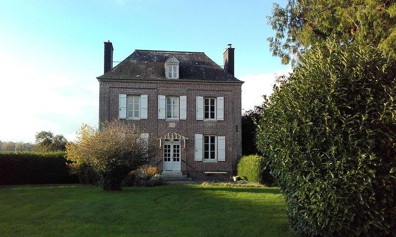 Maison de famille et d'amis au calme, casa vacanza a Bosc-le-Hard