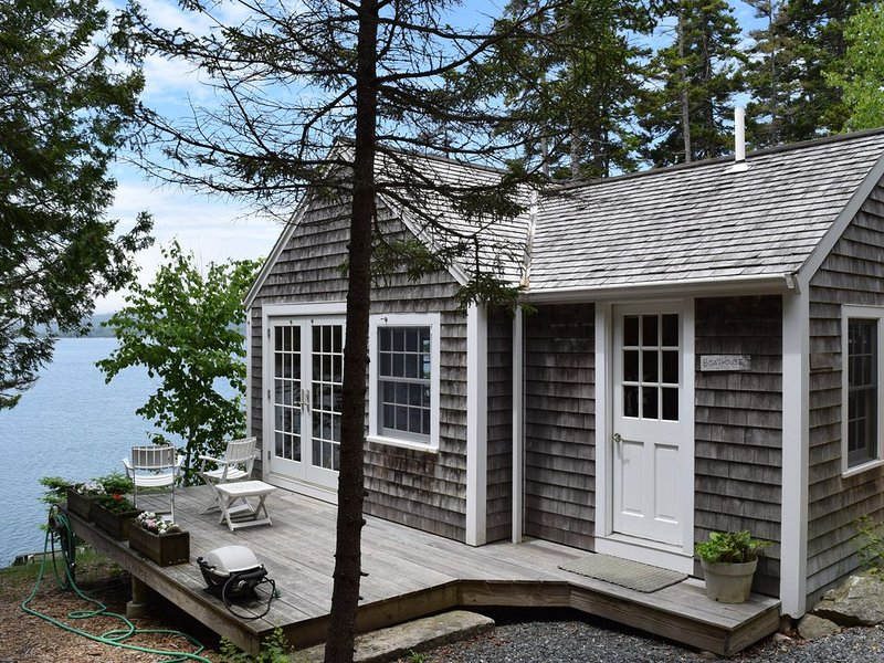 The Boat House on the Water's Edge of Blue Hill Bay, MDI   WiFi for remote work!, holiday rental in Bass Harbor