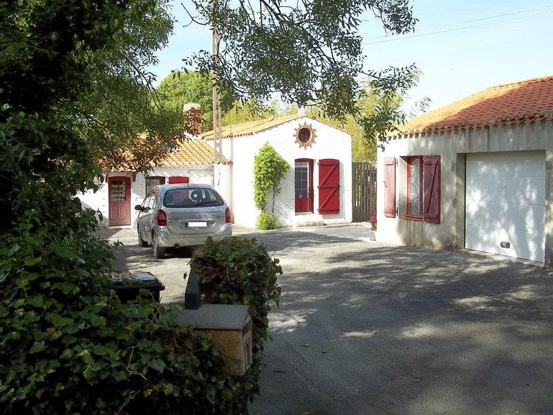 Chambre équipée indépendante à la campagne, location de vacances à Beauvoir-Sur-Mer