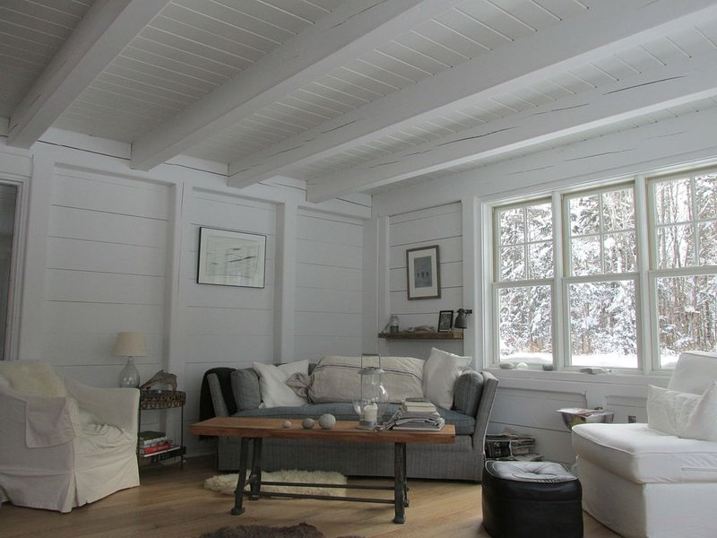 Maine Waterfront- Rustic-Modern Scandinavian Style Cottage. Private & Secluded., vacation rental in South Thomaston