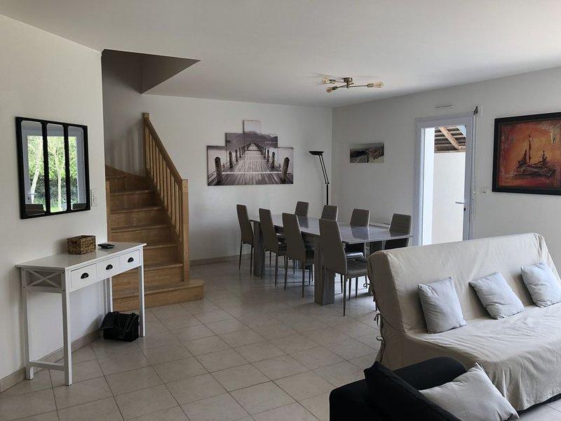Maison familiale à proximité de La Baule/Guérande 8 personnes  - Quartier Beslon, casa vacanza a Guerande