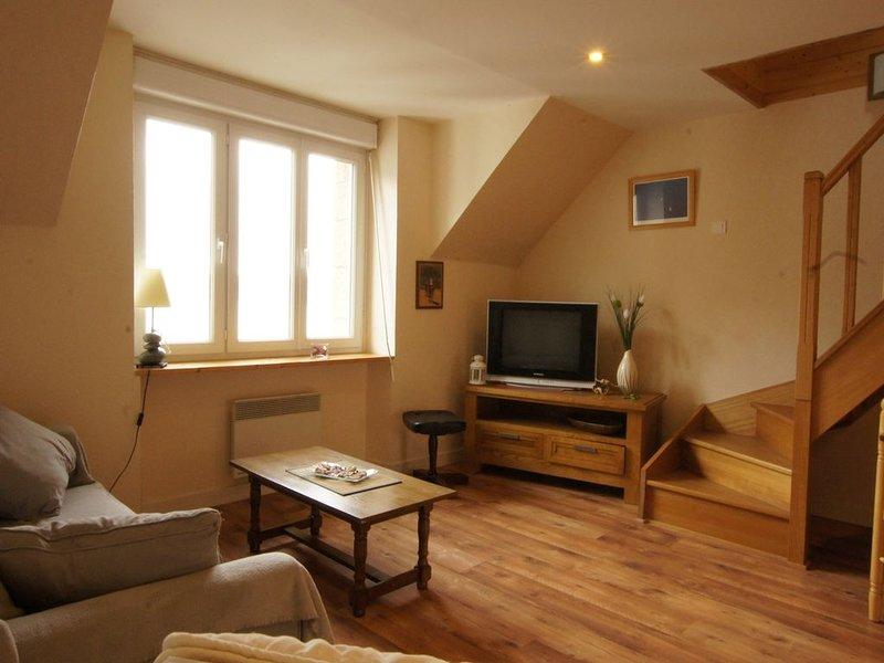 Appartement vue mer pour 2 à 4 personnes, holiday rental in Crozon