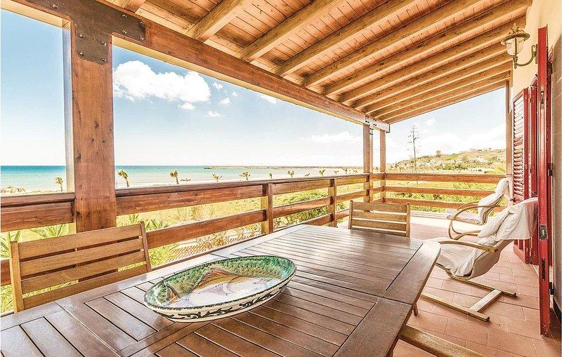 4 Zimmer Unterkunft in Menfi AG, holiday rental in Porto Palo