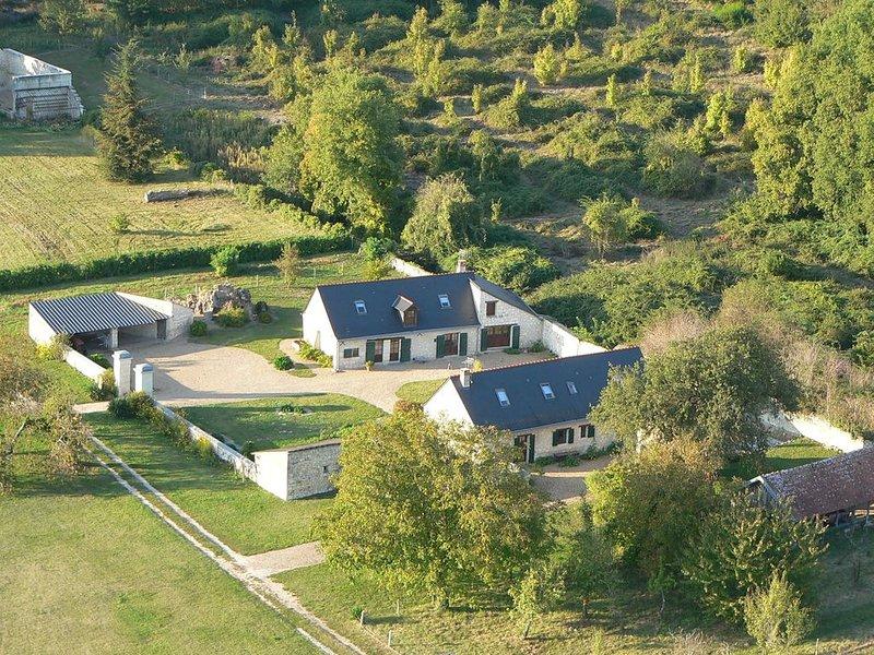 Cottage 'la Brosse' dans le parc du château, holiday rental in Allonnes