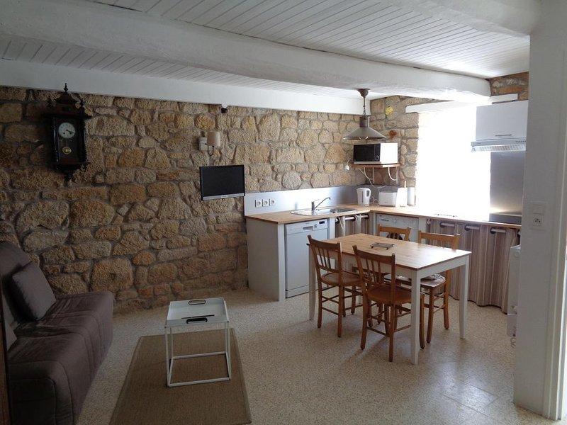Maison de pêcheur dans un quartier calme et typique, casa vacanza a Gavres
