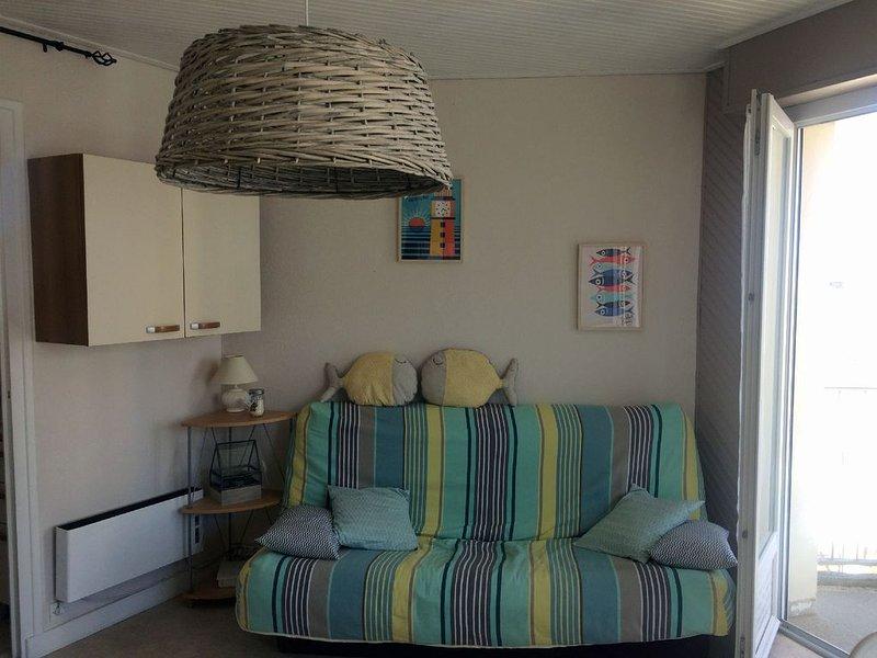 Appartement dans le centre des Sables avec vue sur la plage et le remblai, alquiler de vacaciones en Les Sables-d'Olonne