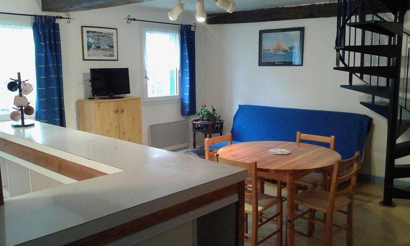 Appartement à louer à Trèguier, cité de caractère proche de la mer, pour 4 pers, alquiler de vacaciones en Langoat