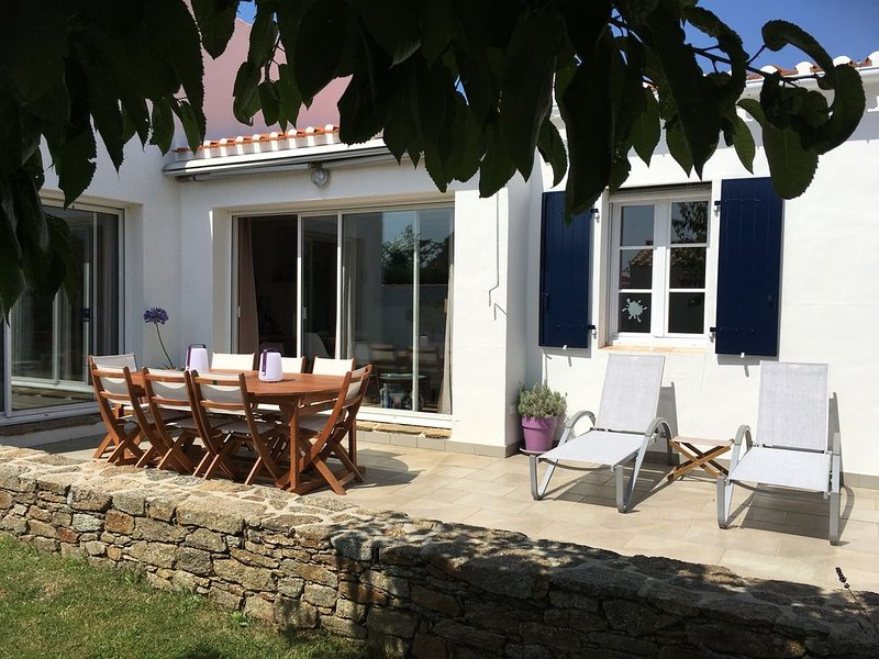 Maison lumineuse à Ker Pissot, holiday rental in Ile d'Yeu