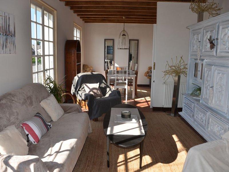 Maison de vacances familiale à 200 m des commerces et proche des plages, vacation rental in Telgruc-sur-Mer