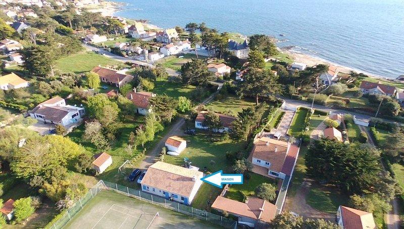 Maison à Préfailles (44) proche plages et commerces - 6 couchages, alquiler vacacional en La Plaine-sur-Mer
