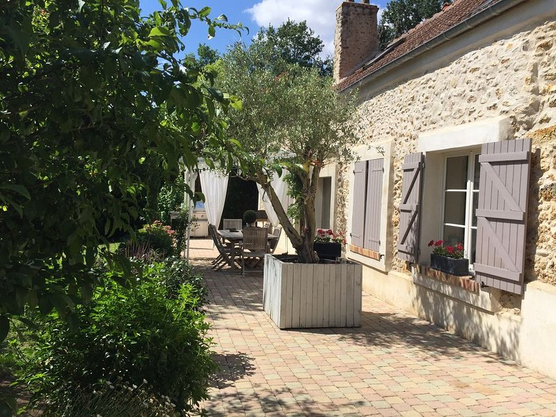 Maison de charme à l'orée du bois – semesterbostad i Thoiry